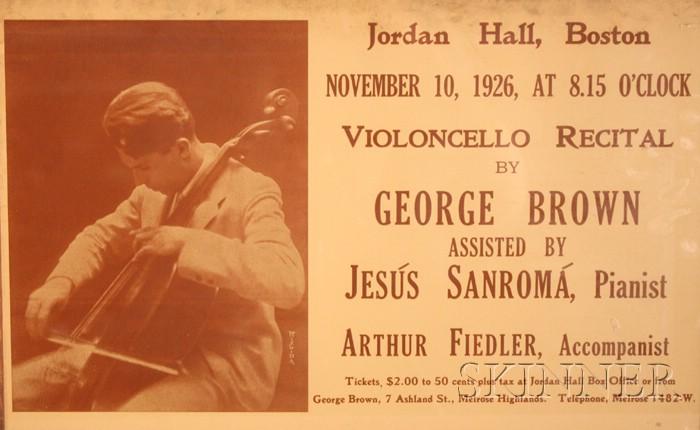 Arthur Fiedler, George Brown, Jesus Sanroma