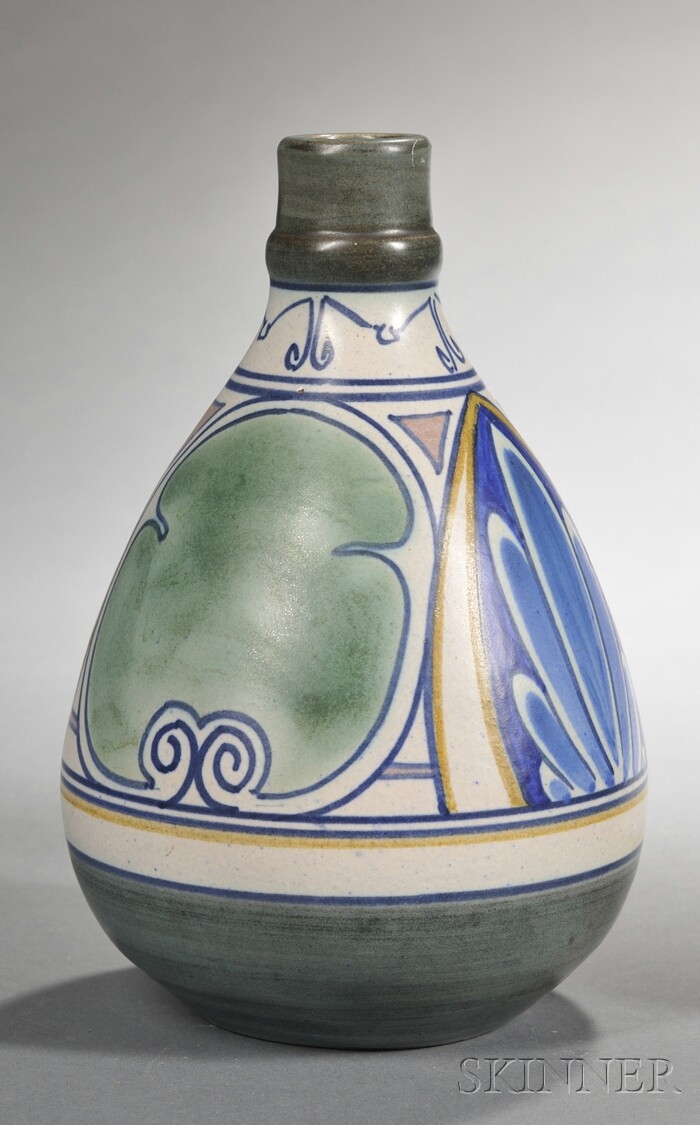 Gouda Matte Glaze Capsule-shaped Vase