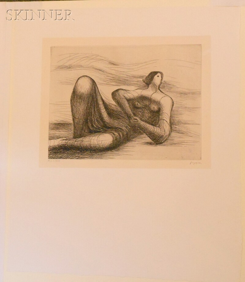 Henry Moore (British, 1898-1986)      Reclining Figure 6