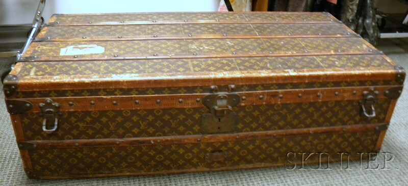 Louis Vuitton Wood-strapped Cabin Trunk