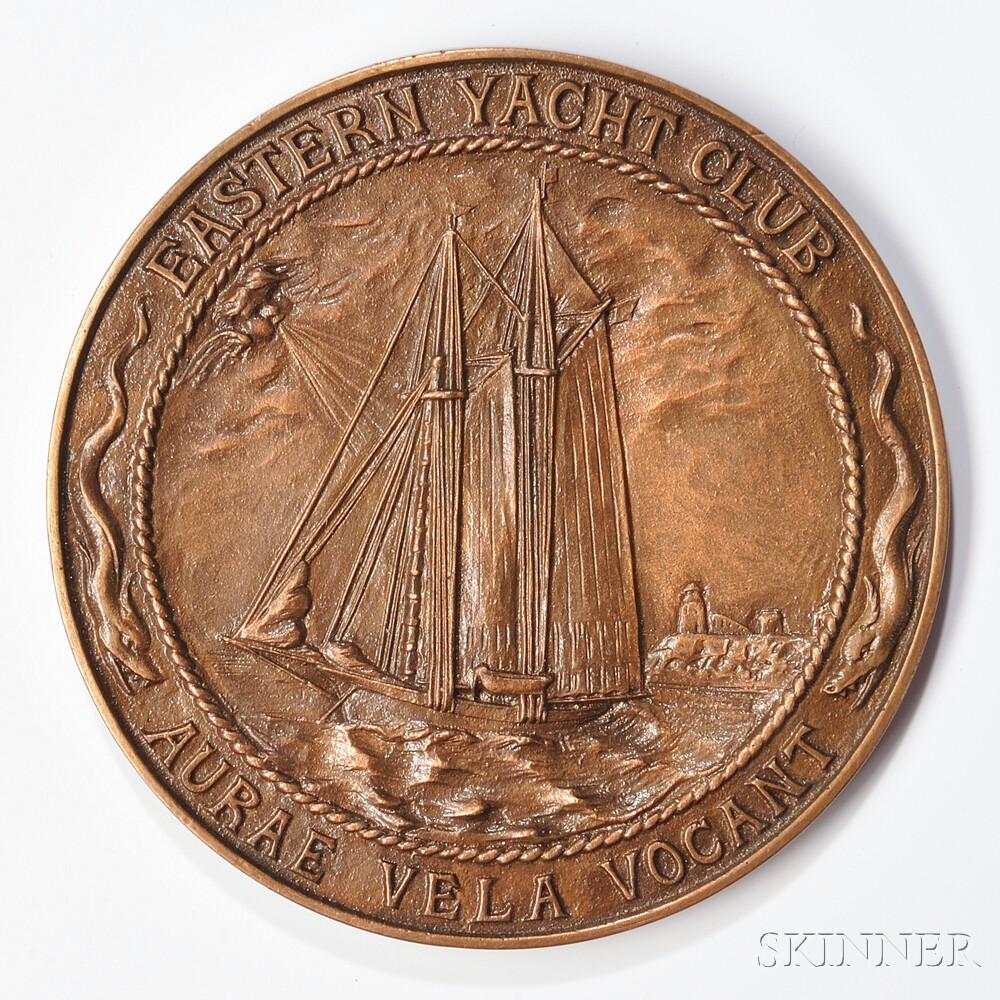 Bronze Eastern Yacht Club Medal