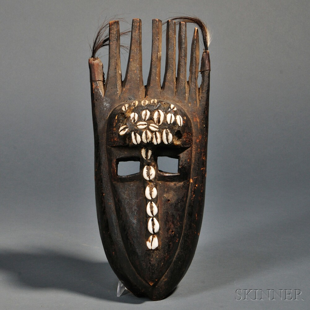 Bamana N'tomo Horned Mask