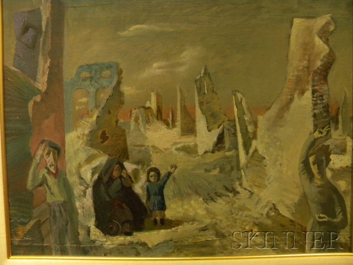 Continental School, 20th Century      The Tragedy of War.