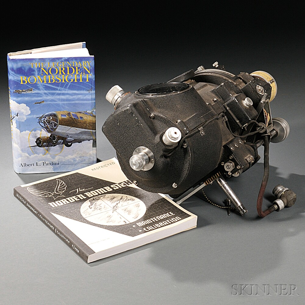 Nordon Bomb Sight with Books