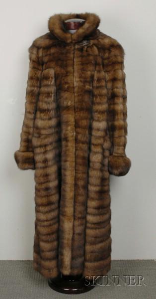 Russian Golden Sable Coat, Bill Blass