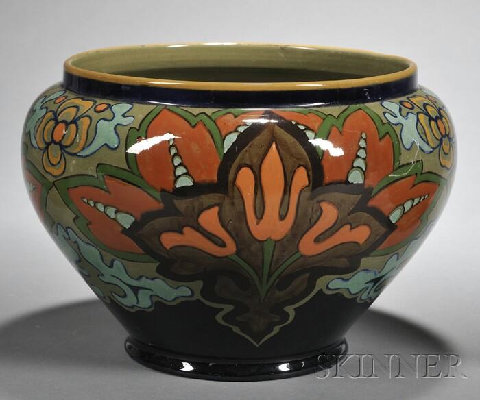 Gouda High Glaze Pottery Jardiniere
