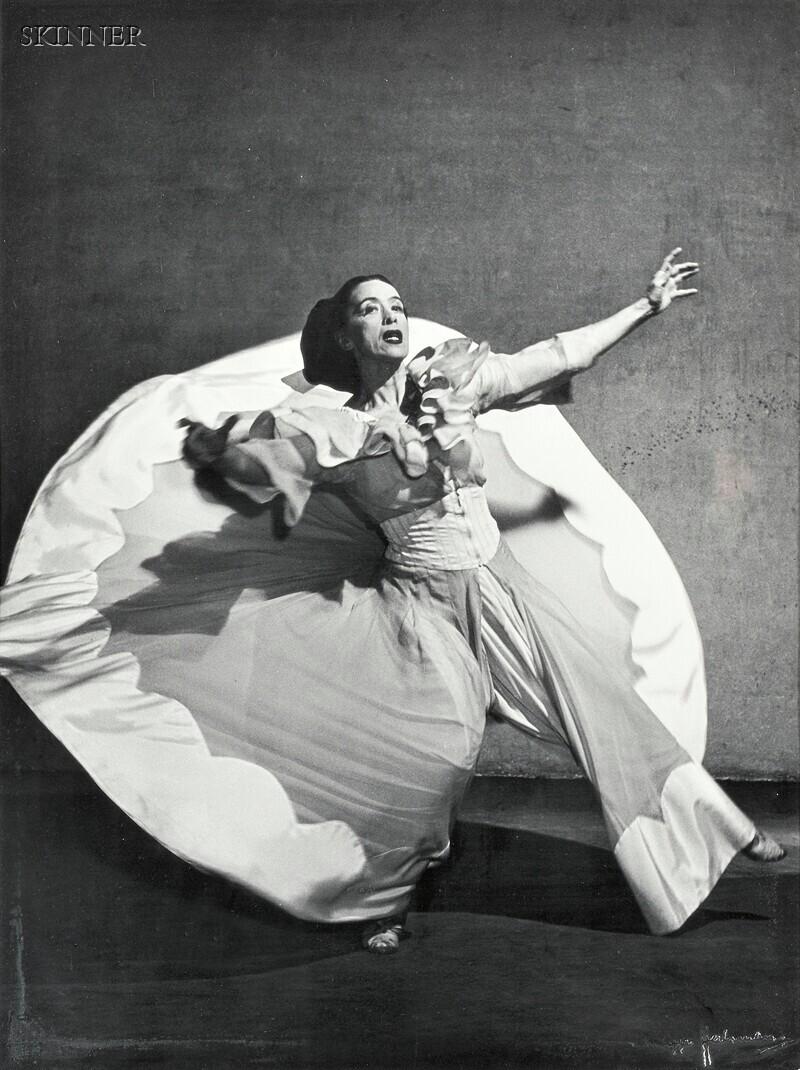 Philippe Halsman (American, 1906-1979)      Martha Graham