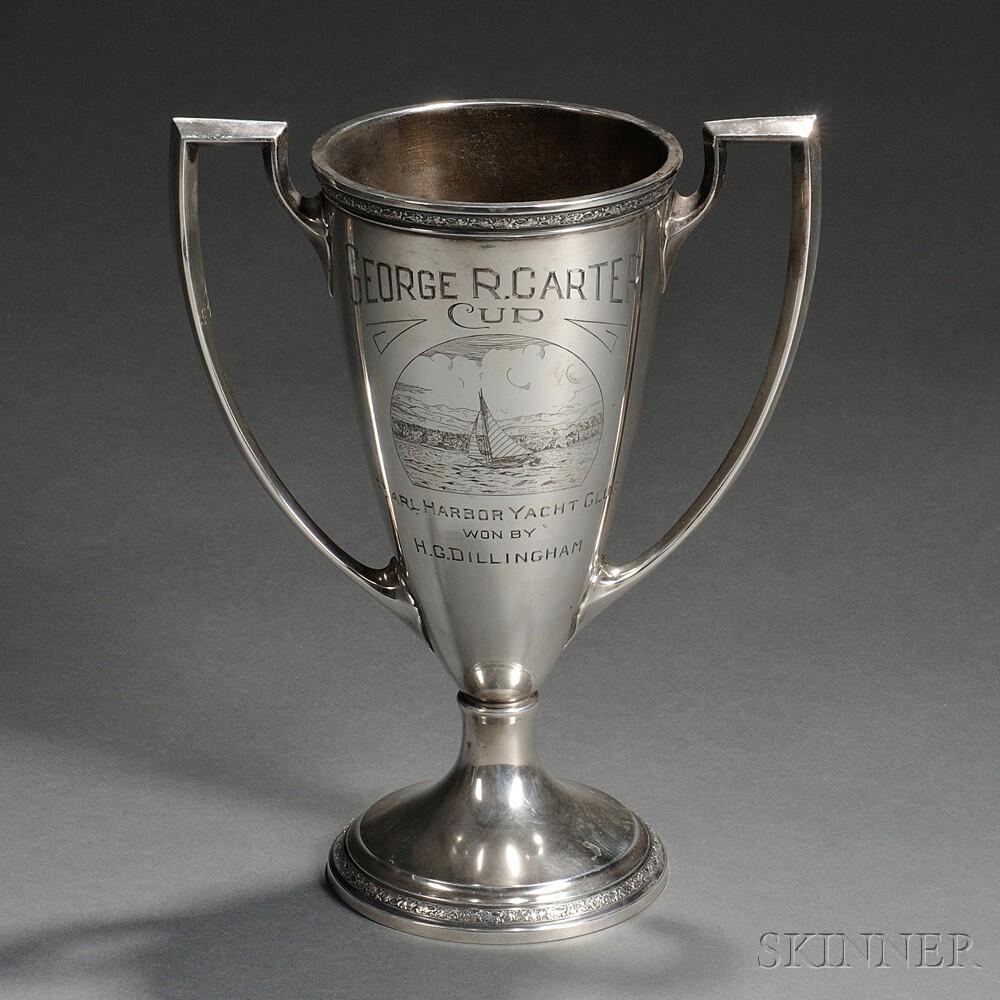 Gorham Sterling Silver Pearl Harbor Yacht Club Trophy
