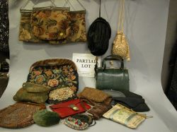 Group of Lady's Cloth and Beaded Purses