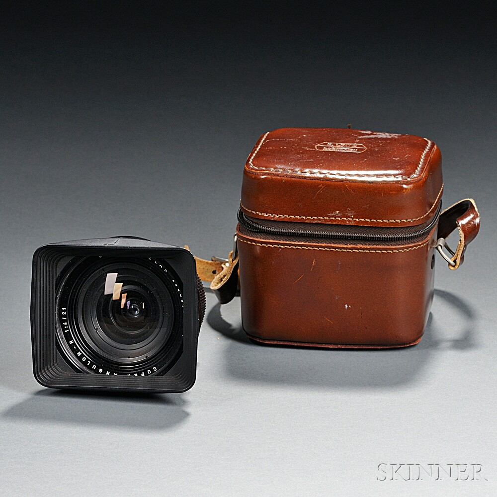 Leitz 21mm Super-Angulon-R Lens