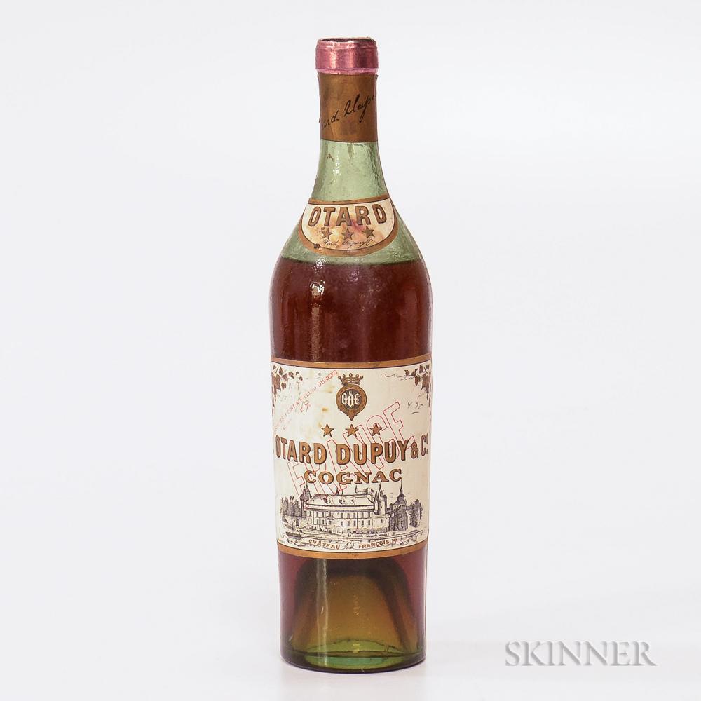 Otard Dupuy Three Star, 1 24oz bottle