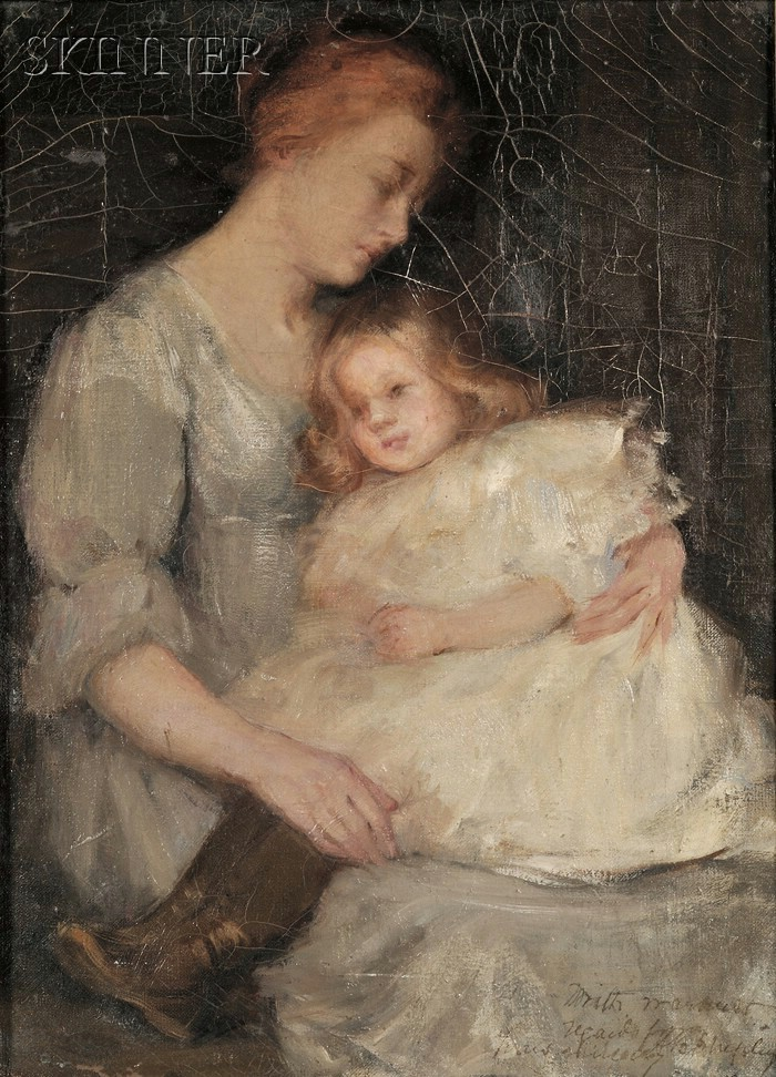 Annie Barrows Shepley (American, 1888-1907)      Mother and Child