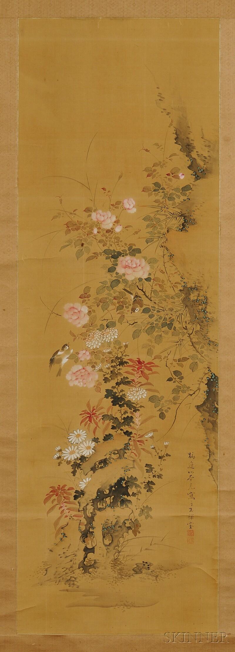 Baiitsu Scroll