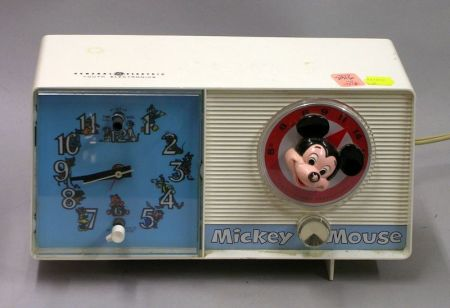 General Electric Mickey Mouse Plastic Radio.
