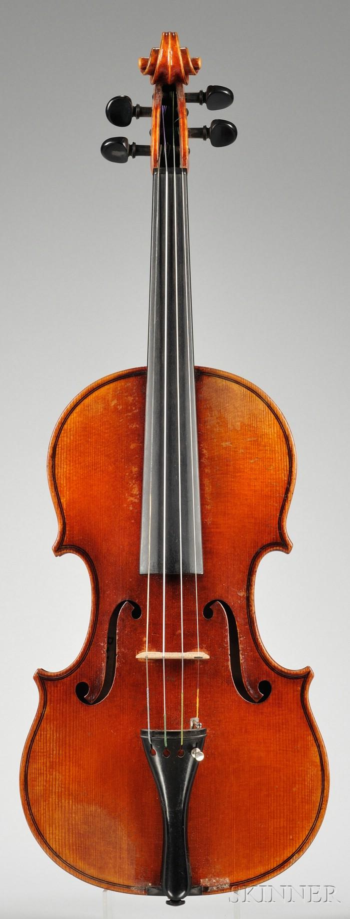 Markneukirchen Violin, Paul Knorr, 1944