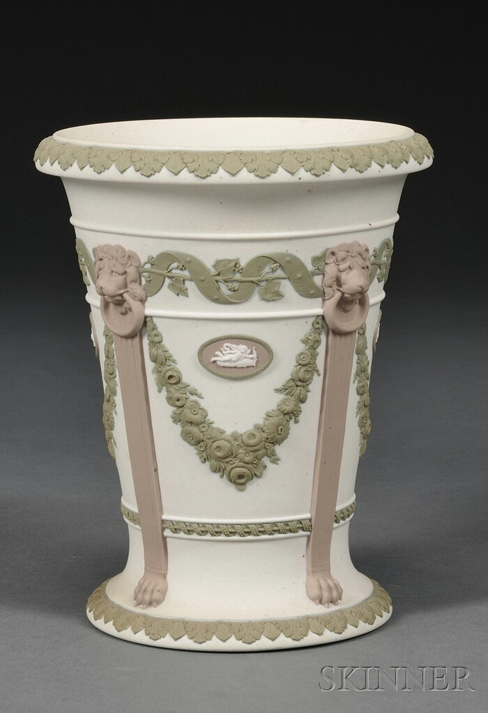 Wedgwood Three-color Jasper Vase
