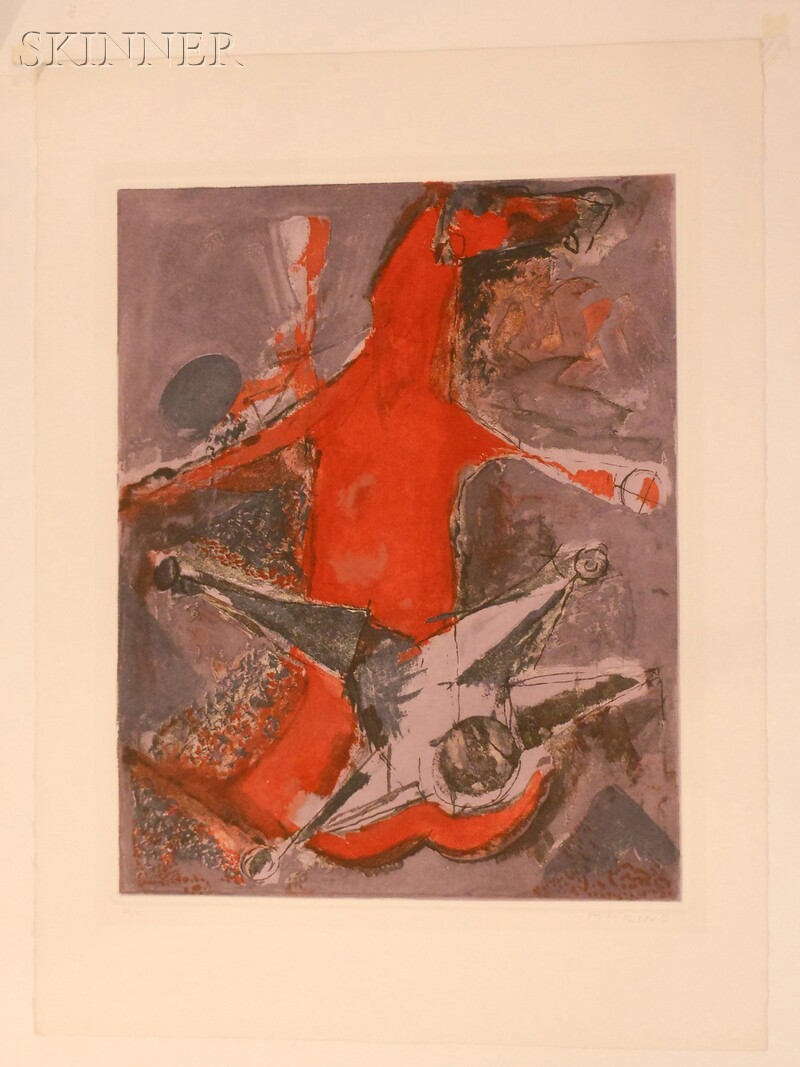 Marino Marini (Italian, 1901-1980)      Miracolo