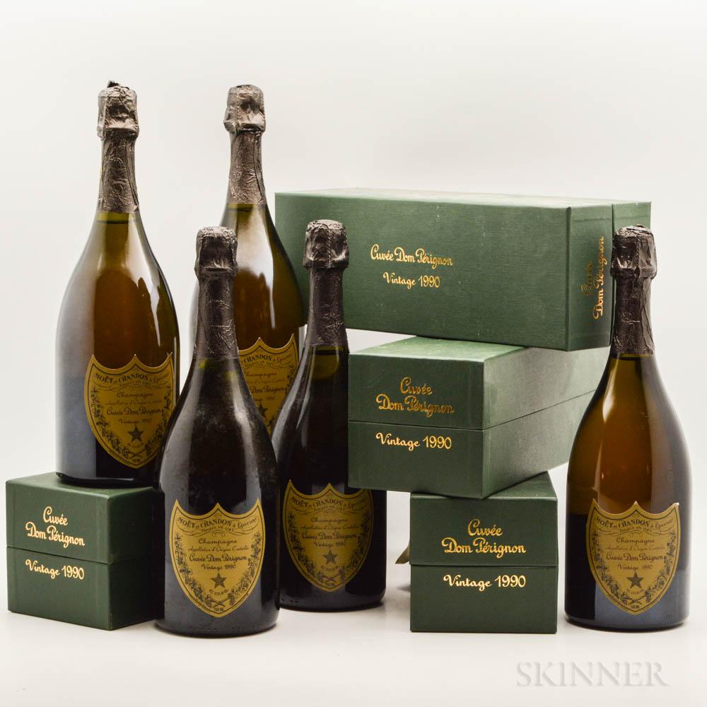 Moet & Chandon Dom Perignon 1990, 9 bottles (4 x pc)