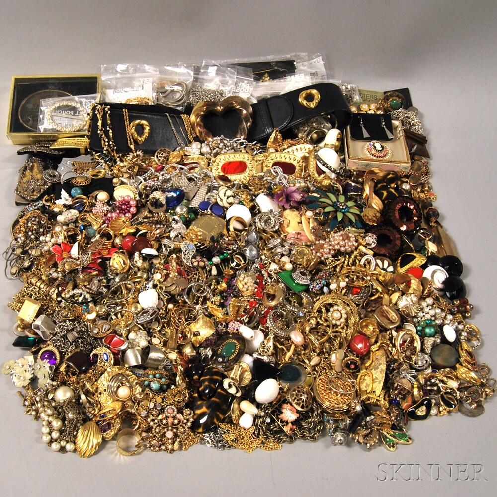 Very Large Group of Assorted Costume Jewelry