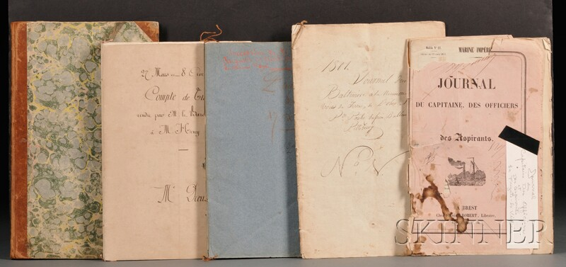 (French Commercial and Naval Documents, 1801 U.S. Travel)