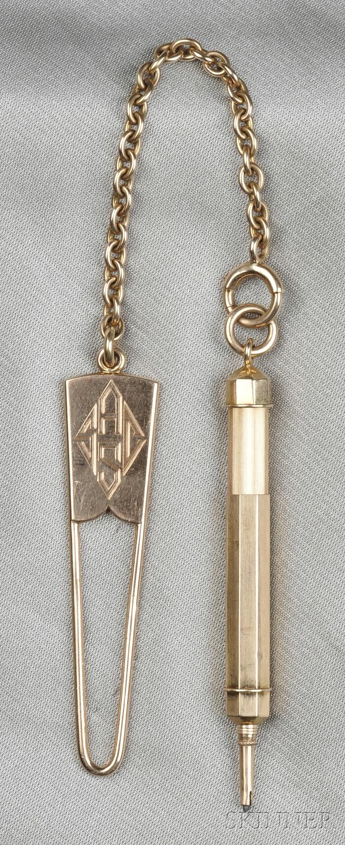 14kt Rose Gold Pencil, Tiffany & Co.
