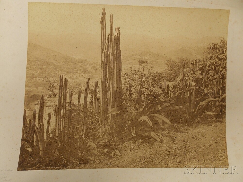 Jackson, William Henry (1843-1942) Thirty Photographs of the American West and Mexico, c. 1880.