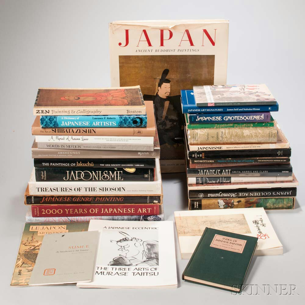 Thirty-two Books on Japanese Art and Architecture