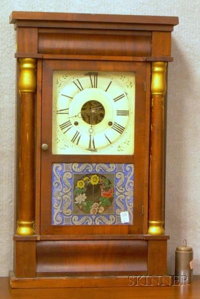 Seth Thomas Column and Cornice Mantel Clock