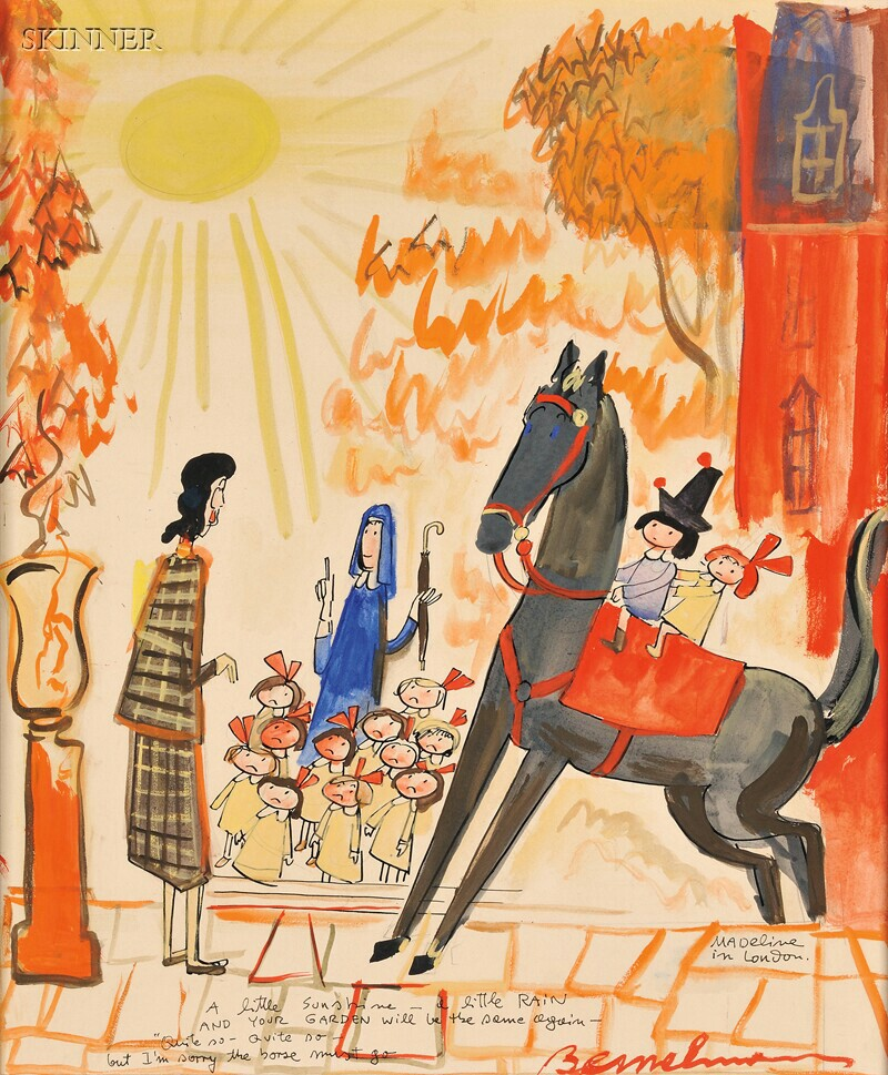 Ludwig Bemelmans (American, 1898-1962)      I'm Sorry the Horse Must Go