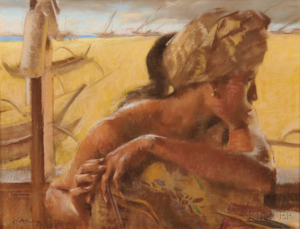 Siew Hock Meng (b. 1942), Far Away