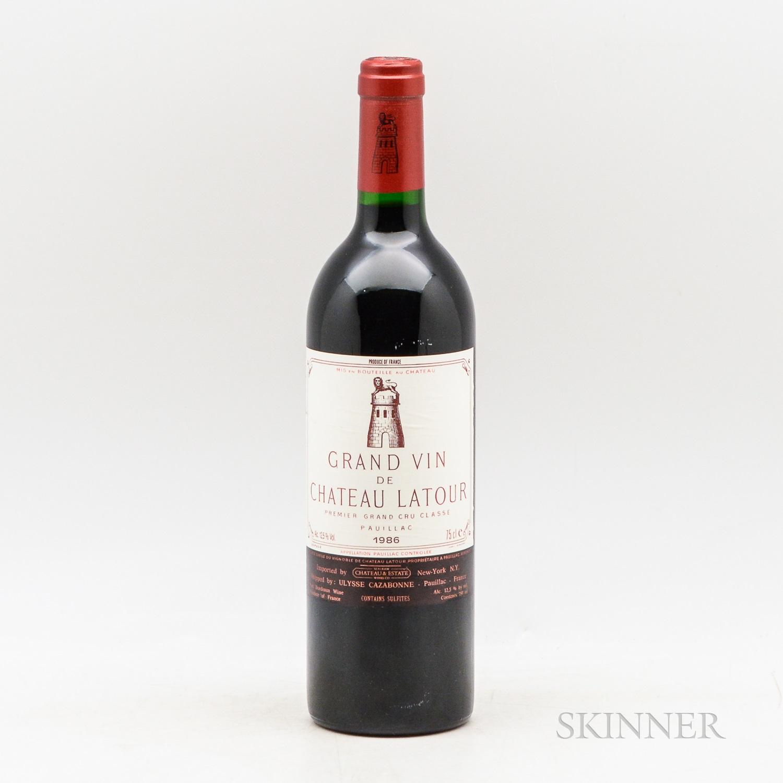 Chateau Latour 1986, 1 bottle