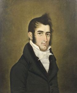 Attributed to Junius Brutus Stearns (New York City and Brooklyn, 1810-1885)  Portrait of Stephen Brewer,