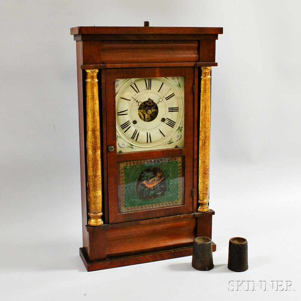 Seth Thomas Split Baluster Clock