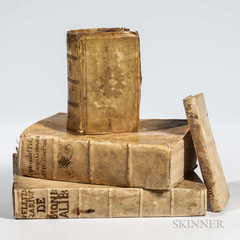 Canon Law, Four Titles in Four Volumes: 1581-1690.