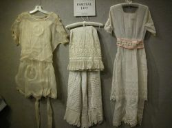 Lot of Victorian and Later Fancy Whites and Dresses.