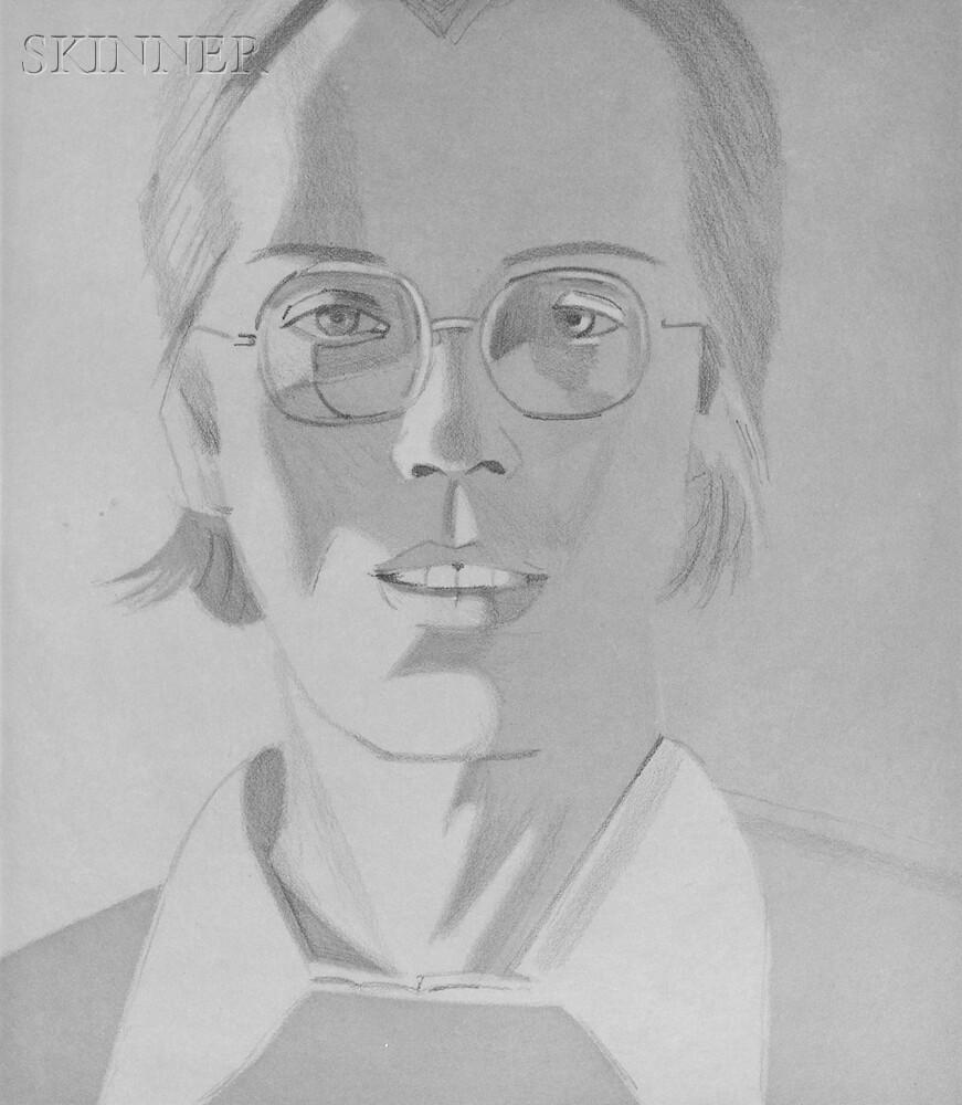 Alex Katz (American, b. 1927)      Mac ,  Nabil