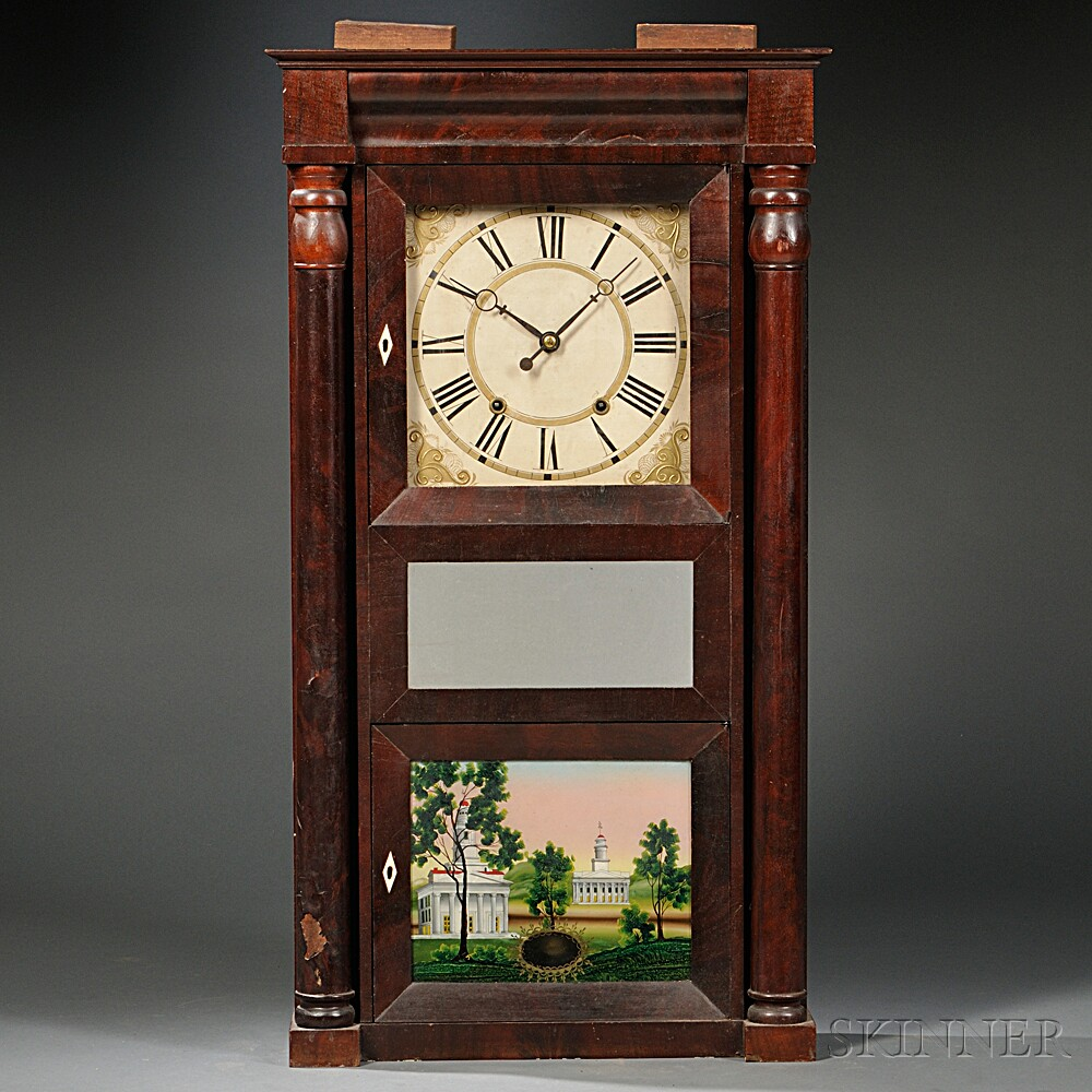 Eli Terry Jr. Eight-day Shelf Clock