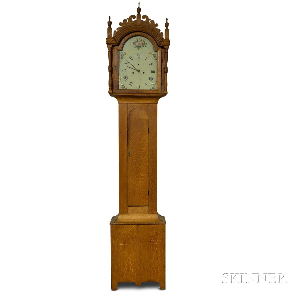 New Gloucester Oak Tall Clock