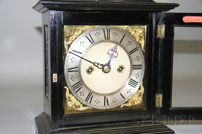 Ebonized Table Clock by William Haycock