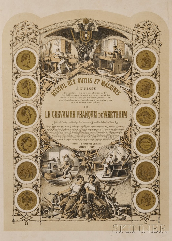 Recueil Des Outils et Machines and Manuel De L'Outillage