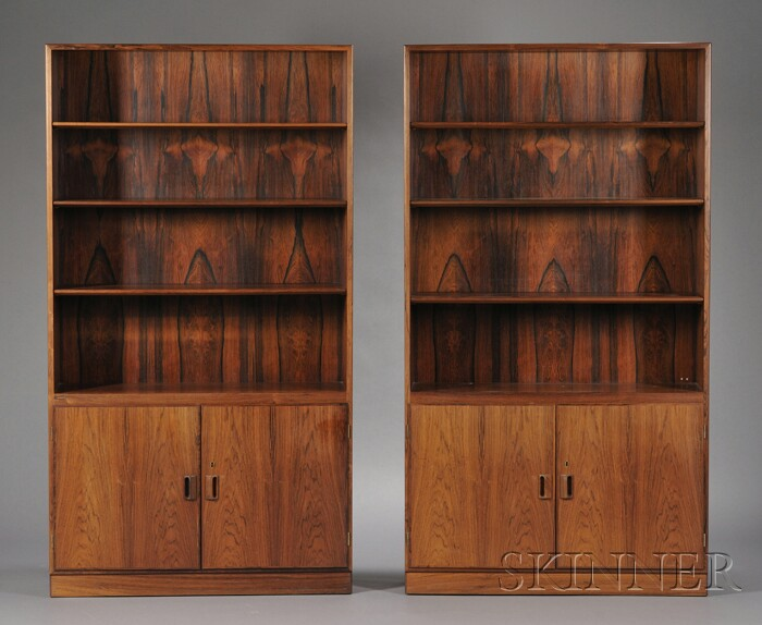 Pair of Borge Mogensen (1914-1972) Book Cabinets