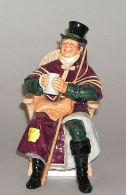 "Royal Doulton ""The Coachman"" Ceramic Figure"