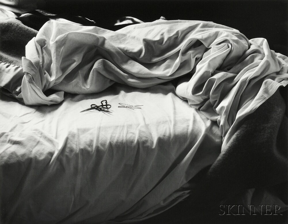 Imogen Cunningham (American, 1883-1976)      The Unmade Bed