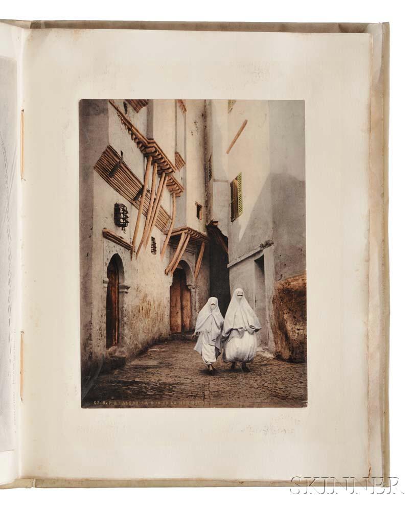 Grand Tour Photo Album c. 1907: Algeria, France, Monaco, Spain, Italy, Greece.
