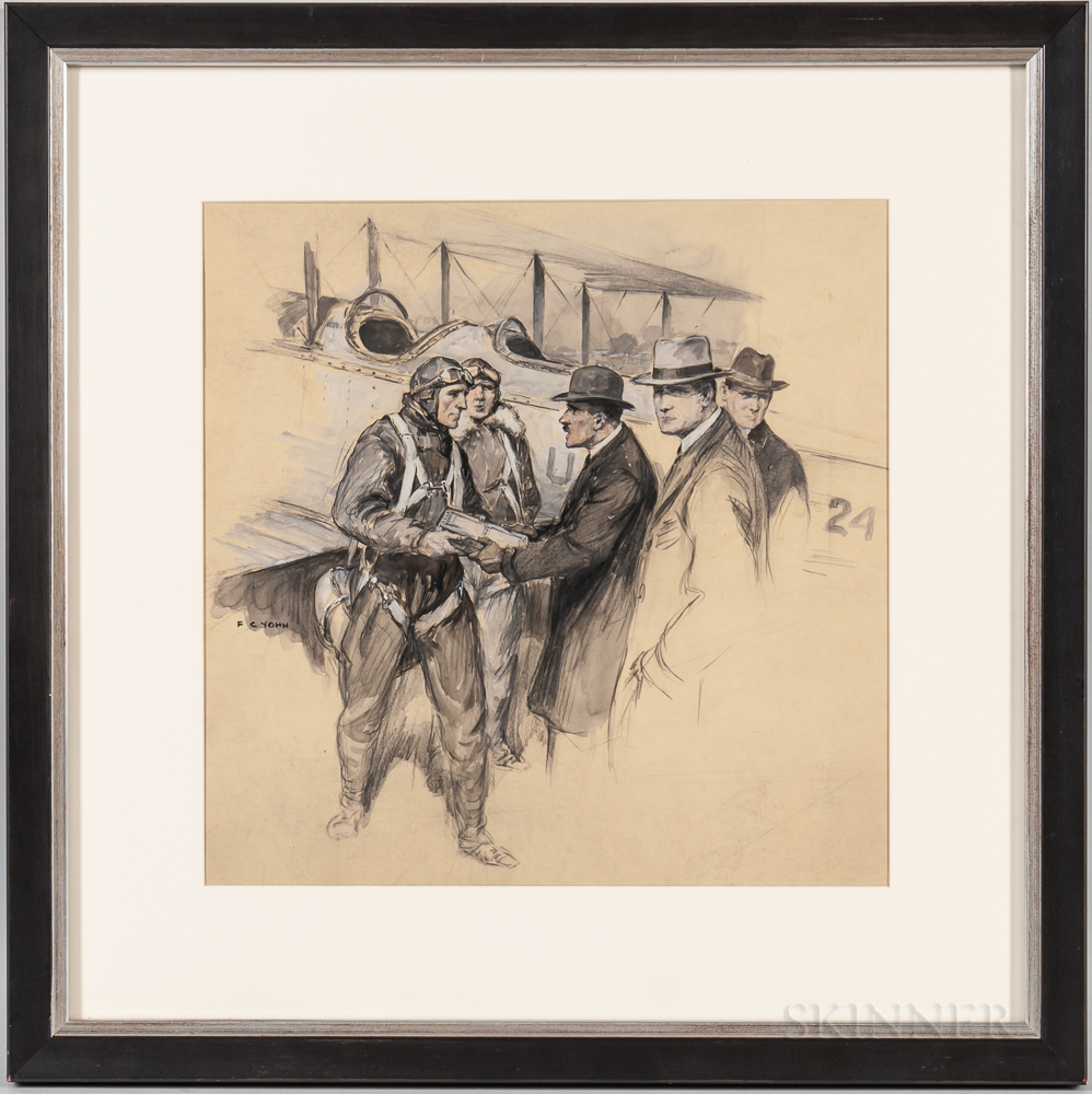Frederick Coffay Yohn (Connecticut/New York/Indiana, 1875-1933)    Special Delivery Frisco Bound