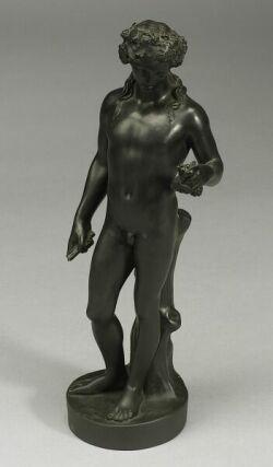 Wedgwood Black Basalt Figure of Bacchus