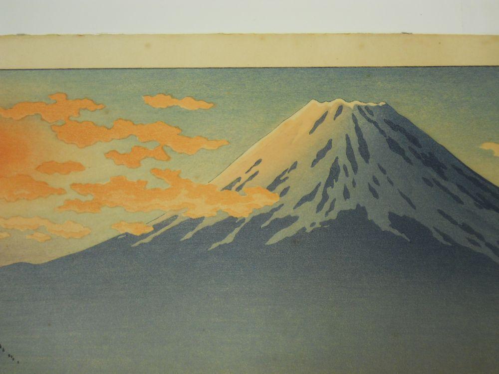 Tsuchiya Koitsu (1870-1949), Motosu Lake