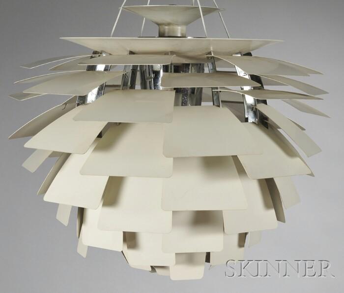 Poul Henningsen (1894-1967) Artichoke Lamp