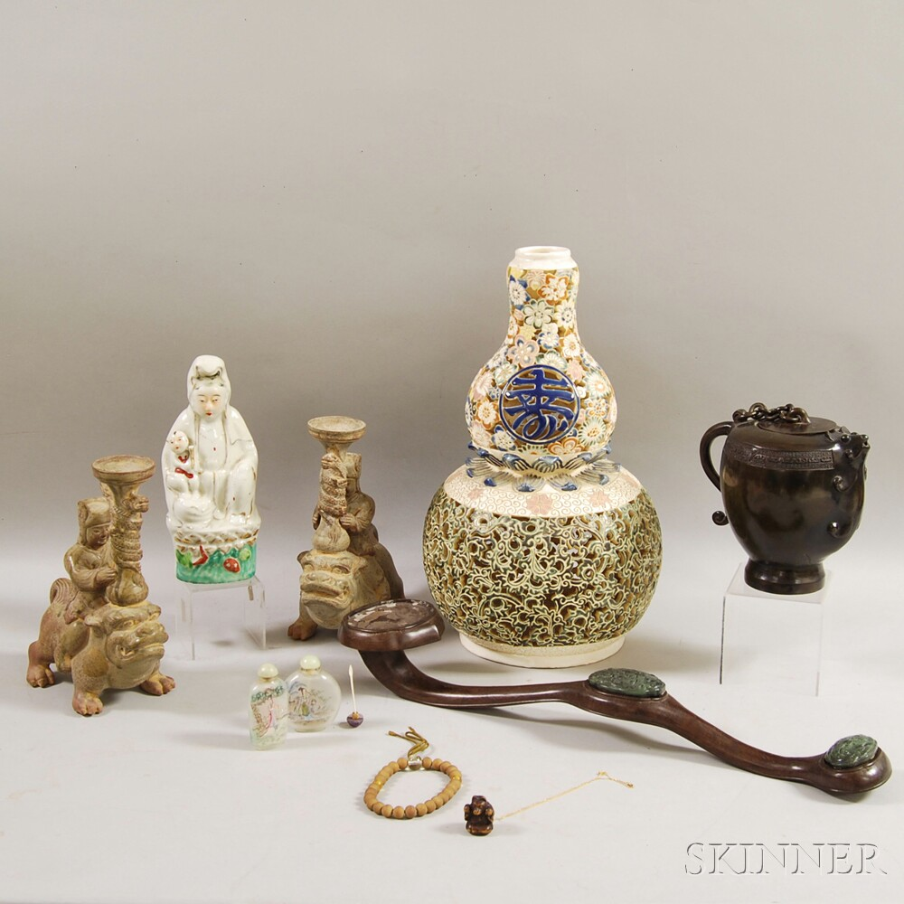 Group of Miscellaneous Asian Items