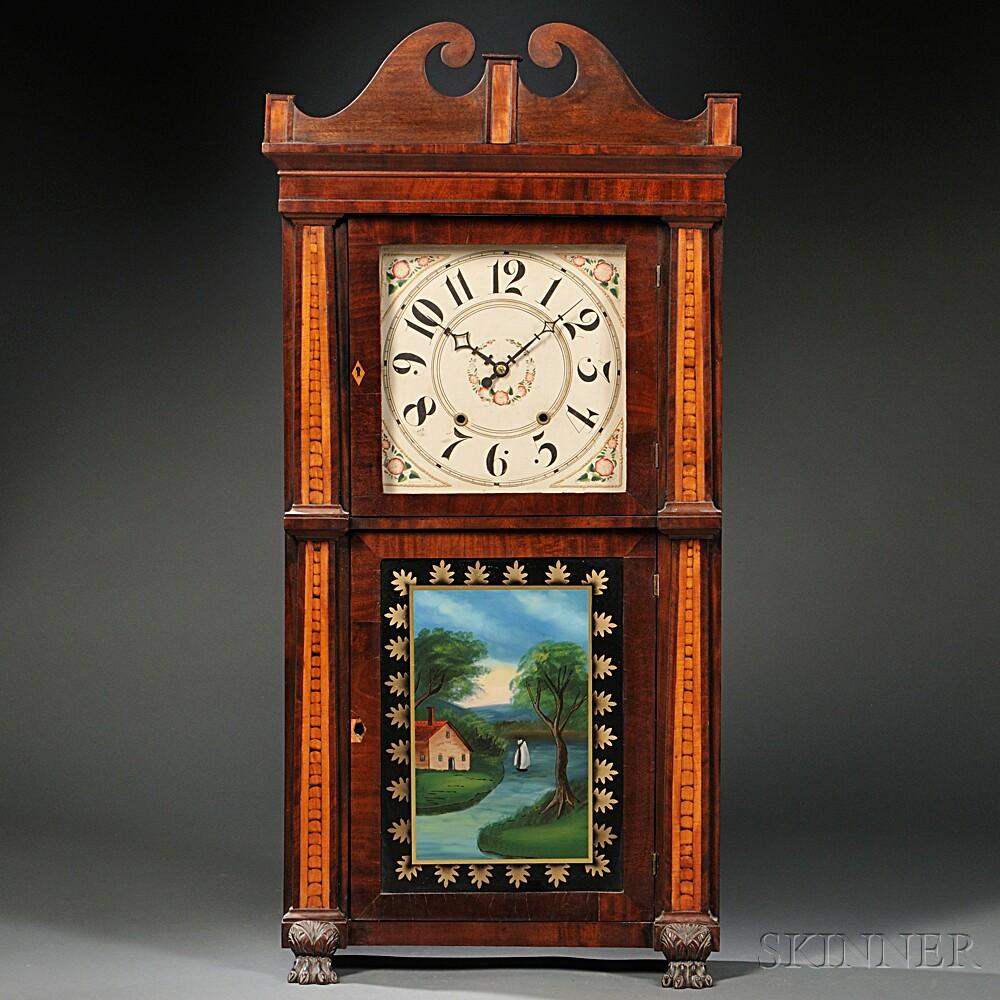 Rodney Brace Mahogany Shelf Clock